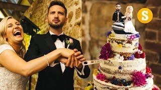 HOW TO MAKE A WEDDING CAKE!
