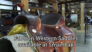 Fabtron Western Saddles - now available at SmartPak
