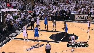 James Harden - 20 points vs Spurs Full Highlights (2012.06.04) (2012 WCF GM5)