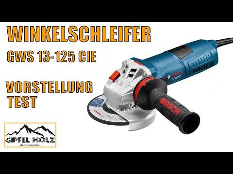 Bosch Winkelschleifer GWS 13-125 CIE Vorführung, Test und Erfahrungen