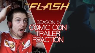 The Flash Season 5 Comic Con Trailer Reaction