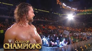 Seth Rollins receives a standing ovation from the WWE Universe: Sept. 25, 2016