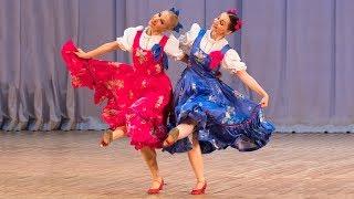 """Русский танец """"Полянка"""". Балет Игоря Моисеева."""