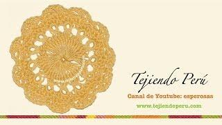 Horquilla (hairpin Lace): Cómo Tejer Un Motivo Circular (# 4)