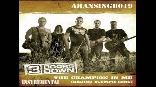 3 Doors Down Champion in Me Instrumental