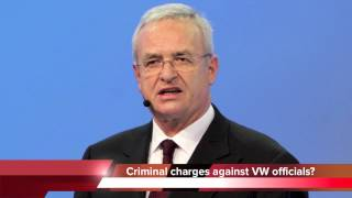 VW scandal may end with criminal charges against Volkswagen officials