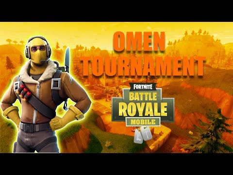 fortnite mobile official 100 tournament livestream come watch - omen fortnite mobile