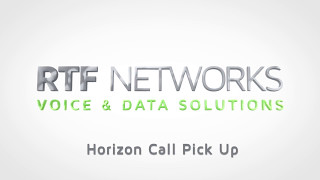 RTF Horizon - Call Pick Ups