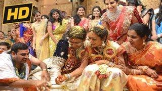 Balakrishna Daughter Tejaswini Wedding | Tejaswini Weds Sribharat Marriage Video - 21