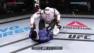 Stormtrooper vs. Spock (EA Sports UFC 2)