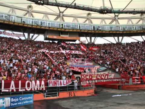 """""""""""Pincha, yo a vos te quiero..."""" Estudiantes 1-0 Arsenal. Torneo Final 2014"""" Barra: Los Leales • Club: Estudiantes de La Plata"""