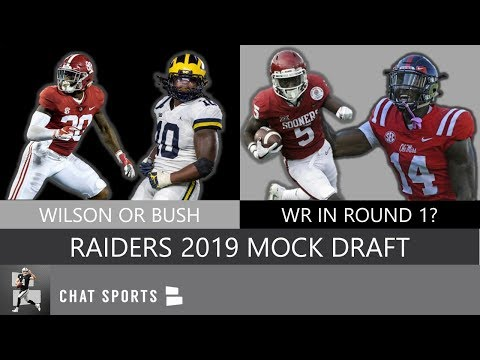Oakland Raiders: Latest 7 Round 2019 Mock Draft, Filling Team Needs On Defense & Offense