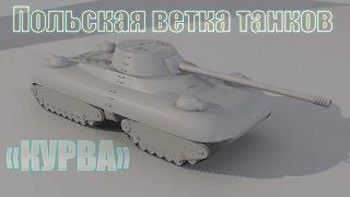 Wot: Польская ветка танков!