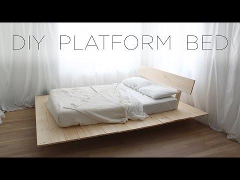 DIY Platform Bed | Modern DIY Furniture Projects from HomeMade Modern