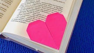 Закладка Валентика 🧡 Валентинка из бумаги своими руками легко и просто 🧡