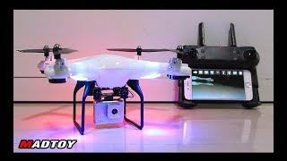 MADTOY ตอนที่647 โดรนติดกล้อง DM106 WiFi Drone 1,990 บาท