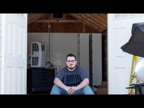 Turning My Shed Into A Studio