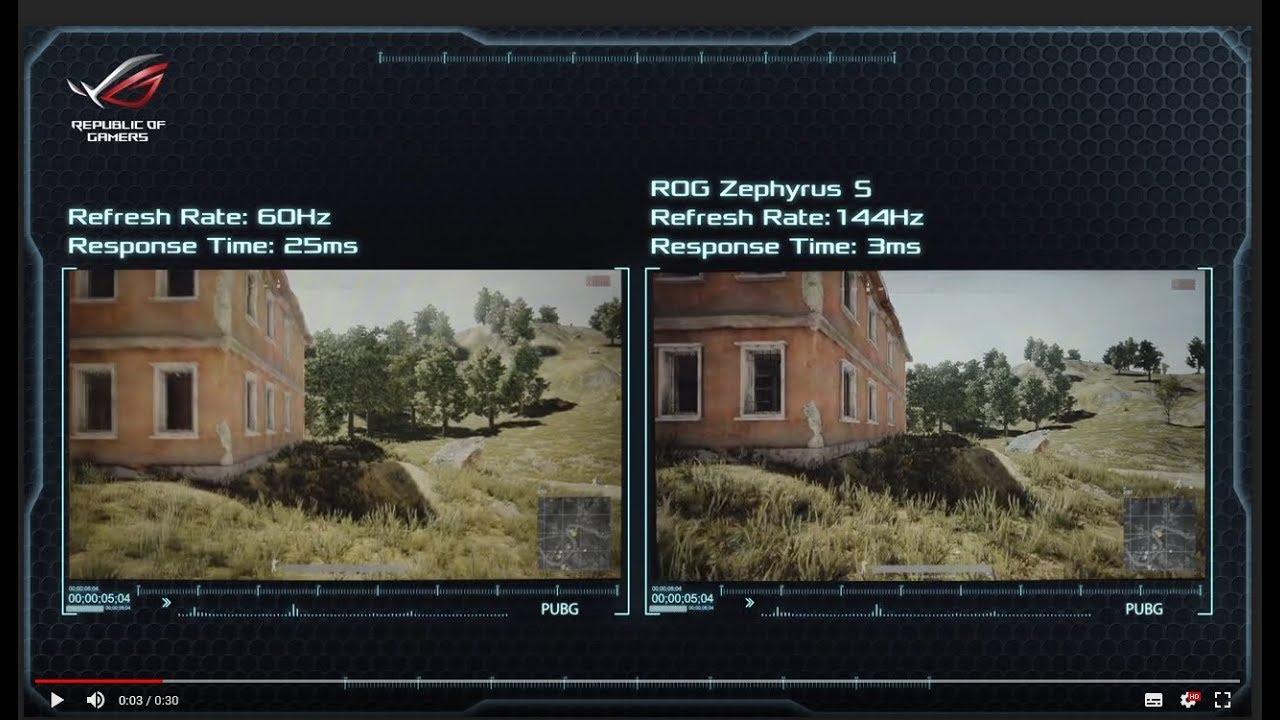 Ноутбук Asus ROG Zephyrus S GX531GX-ES015T Black (90NR01D1-M00670) video preview