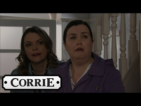 Coronation Street - Mary and Tracy Discover an Intruder in Norris' House