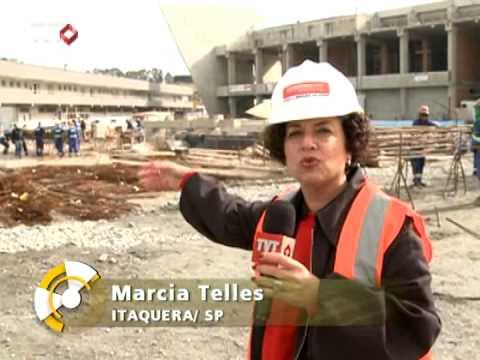 Especial Construções Sustentáveis: Obra Arena Corinthians Prioriza Reciclagem