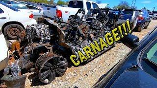 Copart Walk Around + Carnage 4-9-19