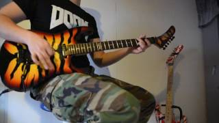 Dokken - Back for the Attack Guitar Cover