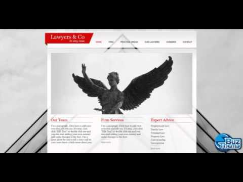 Download Law Firm Wix Website Template by  Big mama HTML-