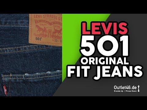 LEVI´S 501 l Weltweit bekannteste Denim-Jeans? 🌎 DEUTSCH l Review l On Body l Haul l Outlet46
