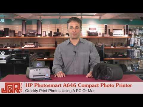 HP Photosmart A646 Compact Photo Printer - Review