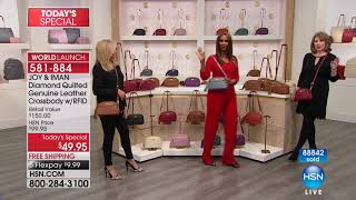 HSN | JOY & IMAN: Fashionably Functional Holiday Event 12.16.2017 - 04 PM