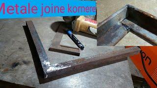 Joining angle iron at 90 deegrees