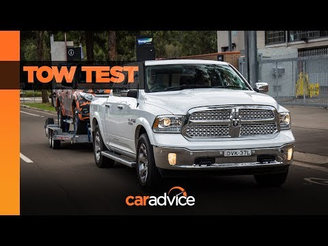 YouTube Video of the CAR ADVICE REVIEW - RAM 1500 TOW TEST