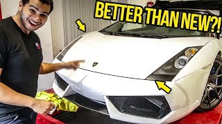 My Cheap Lamborghini's Front End Is 100% DONE (It Looks BETTER THAN NEW?!)