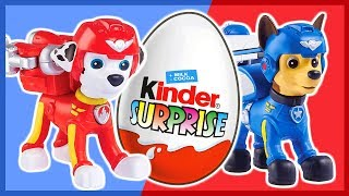 Щенячий патруль. Киндер сюрприз. Учим цвета. Kinder Surprise. PAW Patrol.