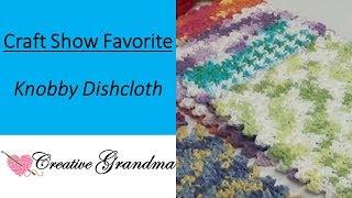How To Crochet The Knobby Dishcloth