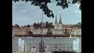 preview picture of video 'Luzern  Lucerne 1960'