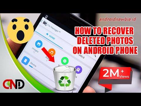 2 Cara ampuh kembalikan foto yang terhapus dari galeri Android