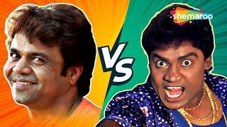 Rajpal Yadav Vs Johny Lever | Best Hindi Comedy Scenes | Mere Baap Phele Aap - Awara Paagal Deewana