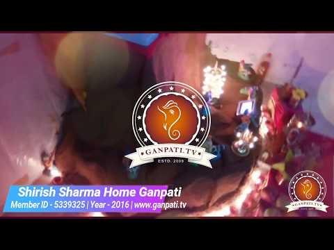 Shirish Sharma Home Ganpati Decoration Video