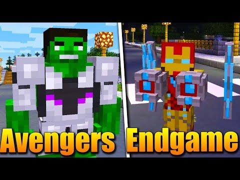 AVENGERS ENDGAME v MINECRAFTU!