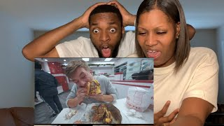 Attempting To Eat 30 Burgers at IN AND OUT.. Reaction