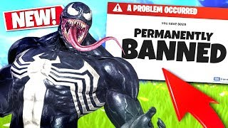 *NEW* Random VENOM Voice Troller Got Me BANNED From Fortnite!