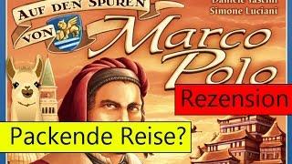 Auf den Spuren von Marco Polo (Brettspiel) / Anleitung & Rezension / SpieLama