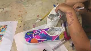 Painted Sneakers!