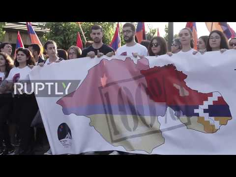 Greece: Hundreds commemorate 103th anniv. of Armenian Genocide in Athens