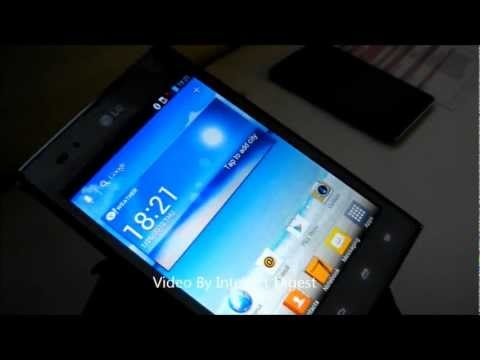 LG Optimus VU P895 Android Phone Smartphone Hands On Review And Box Contents