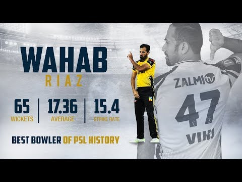 Wahab Riaz | Retained Player for PSL 5