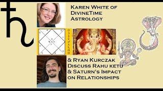 Rahu Ketu & Saturn on Love & Relationships in Vedic Astrology
