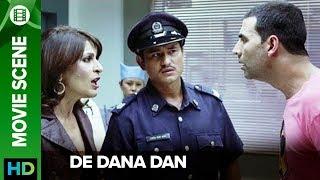 Akshay's million dollar act | De Dana Dan | Movie Scene
