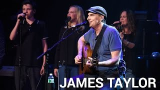 """James Taylor """"Today Today Today"""" Live @ The Apollo Theater // SiriusXM"""